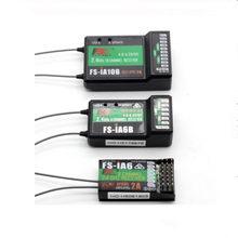 Original Flysky ia6b ia6 ia10b FS-IA6/FS-IA6B/FS-IA10B 6CH 2,4G antena Dual RC receptor para Flysky FS-I6 FSI6 FS-i6 fs-ia10b