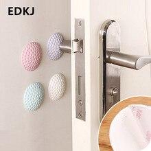 Bumpers Doorstop Door-Handle Wall-Protectors Rubber Self-Adhesive for 1pcs