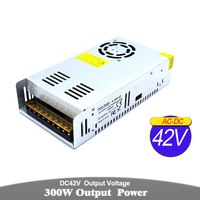 Variable DC Power Supply 42V 300W Driver Transformer AC To DC42V Power Adapter For Lighting stepper Motor CNC Router