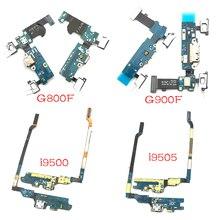 USB Charging Port Board For Samsung Galaxy S4 S5 mini i9500 i9505 i337 i9190 G900F G800F Charger Con