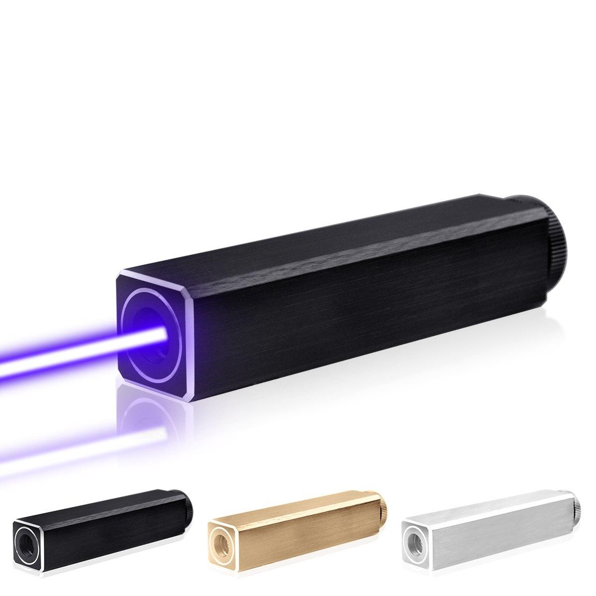 CWLASER 532nm vert/450nm bleu/405nm violet/650nm rouge pointeur Laser de forme carrée (3 couleurs) - 4