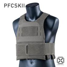 Fcsk tático li ferro o slickster leve perfil baixo baixa visibilidade colete tático
