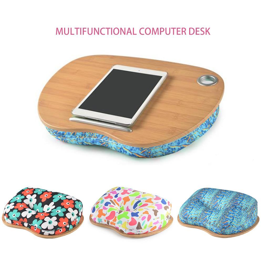 Laptop Desk Multifunctional Portable Firm Wear-resistant Laptop Table For Outdoor Bed Use Computer Desk