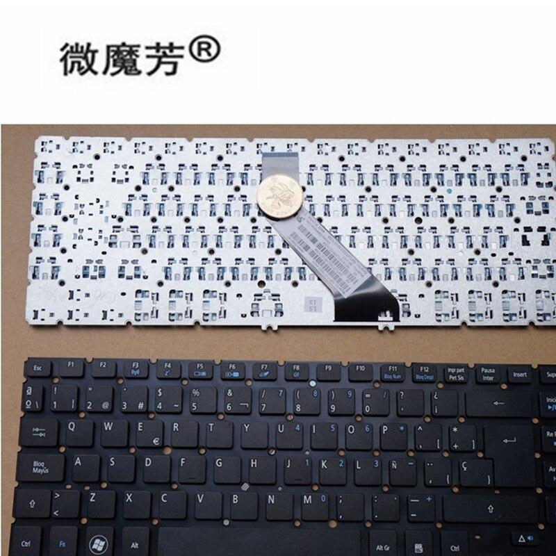 Buy teclado español para for Acer Aspire V5-431G V5-431P V5-431PG V5-471G V5-471P V5-471 V5-431 MS2360 SP negro for only 11.88 USD