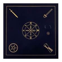 Алтарь Таро ткань бархат карты скатерть с сумкой oracle Гадания