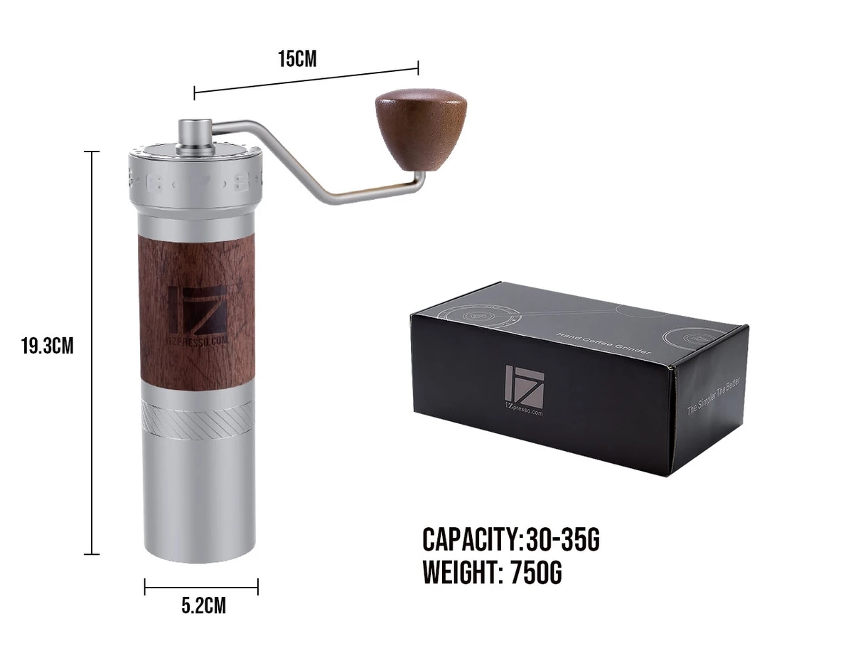 1 pc New 1zpresso K pro k burr super portable coffee grinder coffee mill grinding super manual coffee bearing recommedElectric Coffee Grinders   -