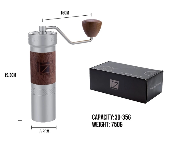 1 pc New 1zpresso K pro k burr super portable coffee grinder coffee mill grinding super manual coffee bearing recommed