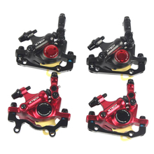 HB-100 MTB Road Line Hydraulic Disk Traction Front And Rear Brake Calipers Mountain Bike Disc Brakes E-BIKE Brake Disc electric bike hydraulic brake disc set harley scooter front and rear wheel brake and the rear seat with seat back seat bracket