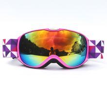 Детские двухслойные незапотевающие лыжные очки для альпинизма