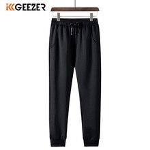Pants Men Trousers Sport Elasticity Fitness Black Plus-Size 100%Polyester Lightweight