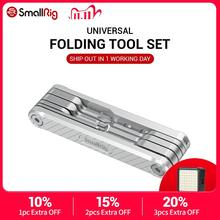 SmallRig DSLR Camera Rig Folding Tool Set with Screwdrivers and Wrenches Universal 2213