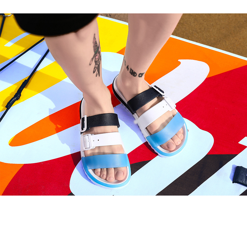 Sandals Fashion Sandals For Women Men Summer Slippers Open Toe Big Size Sandal Beach Slides Women Summer Shoes
