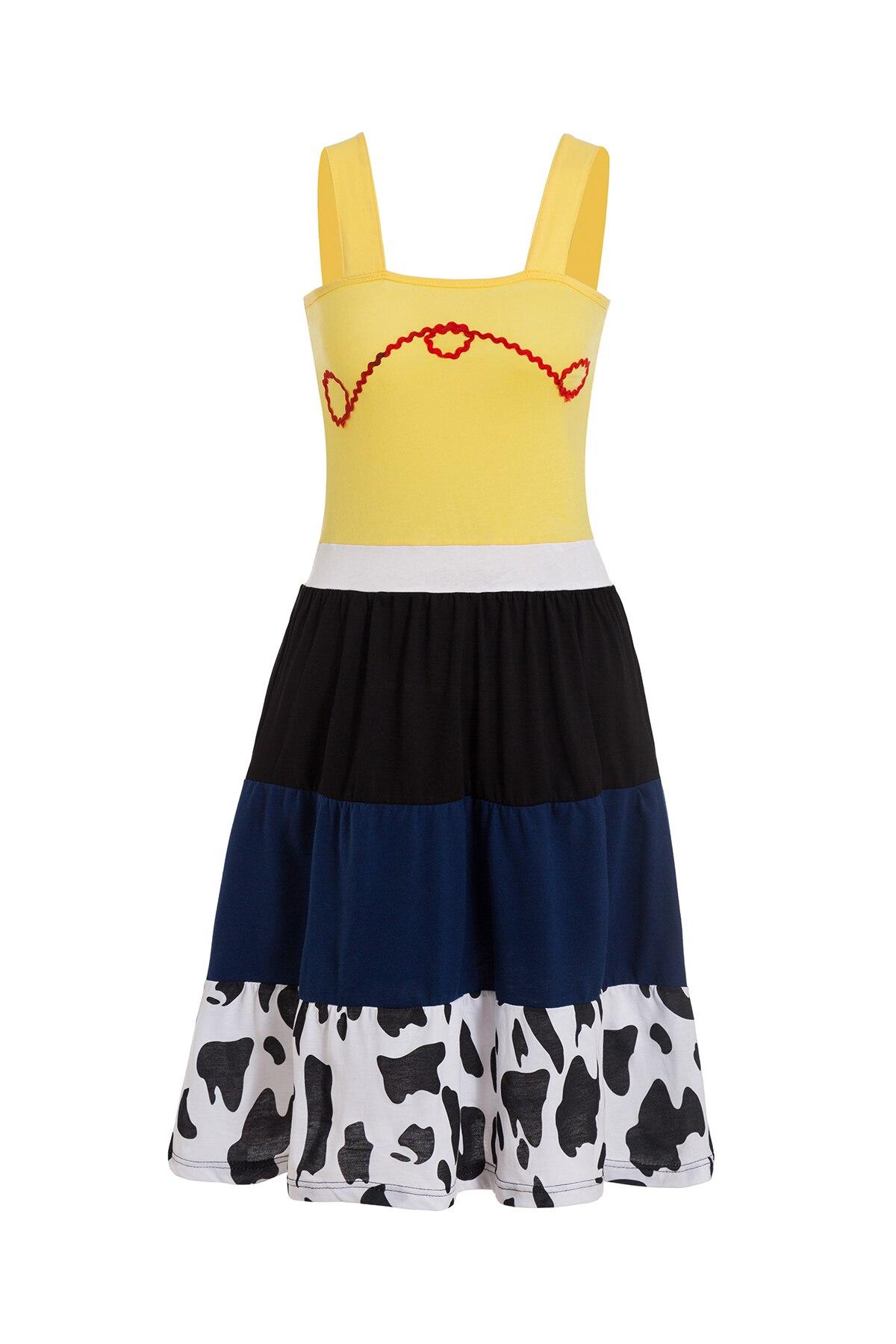 Платье принцессы для взрослых; одинаковый семейный маскарадный костюм «Минни Маус и я»; женское платье принцессы в горошек; большие размеры - Цвет: Jessie
