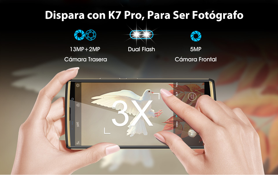 Movil Oukitel K7 Pro 4GB/64GB