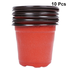 Planters Terracotta Flower Plastic Wholesale Pot-Holder Home-Decor Round Mini High-Quality