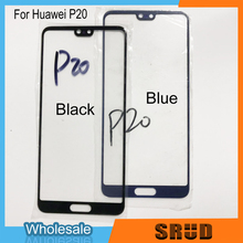 цена на New LCD Front Touch Glass Lens Panel For Huawei P20 Touch Screen Outer Lens Digitizer Glass