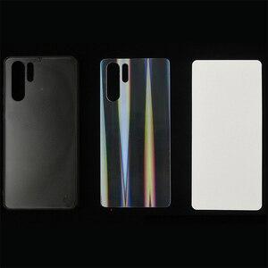 Image 1 - UV Druck Aurora Glitter TPU Fall Für Huawei P20 P30 P40 Pro Mate 10 20 30 40 Pro Ehre 9 10i 10 lite Abdeckung Leere Druck