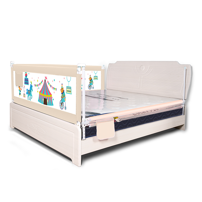 1pcs 1.2/1.5/1.8/2M Newborn Baby Safety Fence Guard Adjustable Bed Rail Infant Bed Pocket Playpen Kids Bed Guardrail Crib Rail