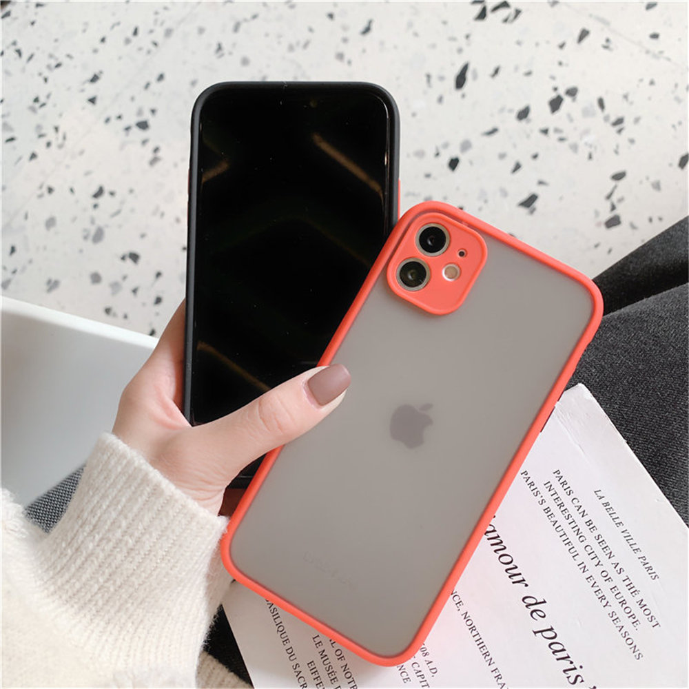Mint Hybrid Case for iPhone SE (2020) 63