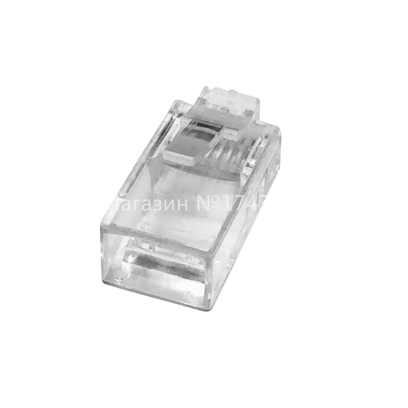 High Quality 1000PCS Crystal Head RJ45 Pack Plug Cat5 Rj-45 CAT5 Modular Plug Lan Network Connector Networking Adapter Ic ...