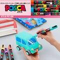 Uni Posca PC-1M/3 м/5 м маркер для рисования  рекламная ручка  не выцветает 21/24  все цвета 0 7 мм/0 9 мм ~ 1 3 мм/1 8 мм ~ 2 5 мм