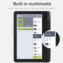 Устройства для чтения электронных книг 7 дюймов E-ink Цвет Экран со встроенным Музыка Видео и изображение электронные чтения электронных книг...