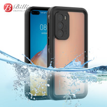 IP68 Waterproof Case for Huawei P40 Swimming Diving Outdoor Shockproof Case For Huawei P40 Full Protection Case(China)