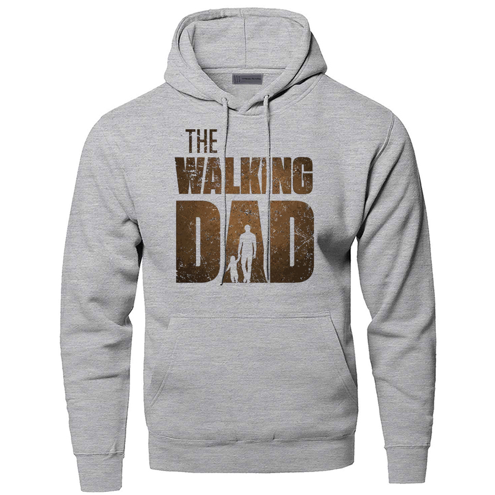 The Walking Dead Sweatshirts Hoodies Men Rick Grimes Hooded Sweatshirt Hoodie Winter Autumn Fleece Warm Horror Sportswear Mens