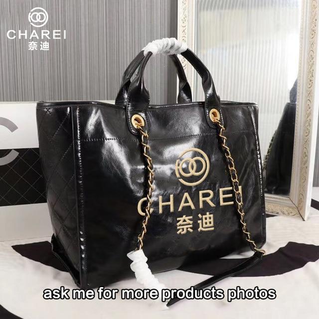 Фото французская сумка charei новинка 2020 большая женская на цепочке