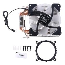 Радиатор ЦП с 4 тепловыми трубками, охлаждающий вентилятор 90 мм, радиатор для разъема AMD intel 62KA