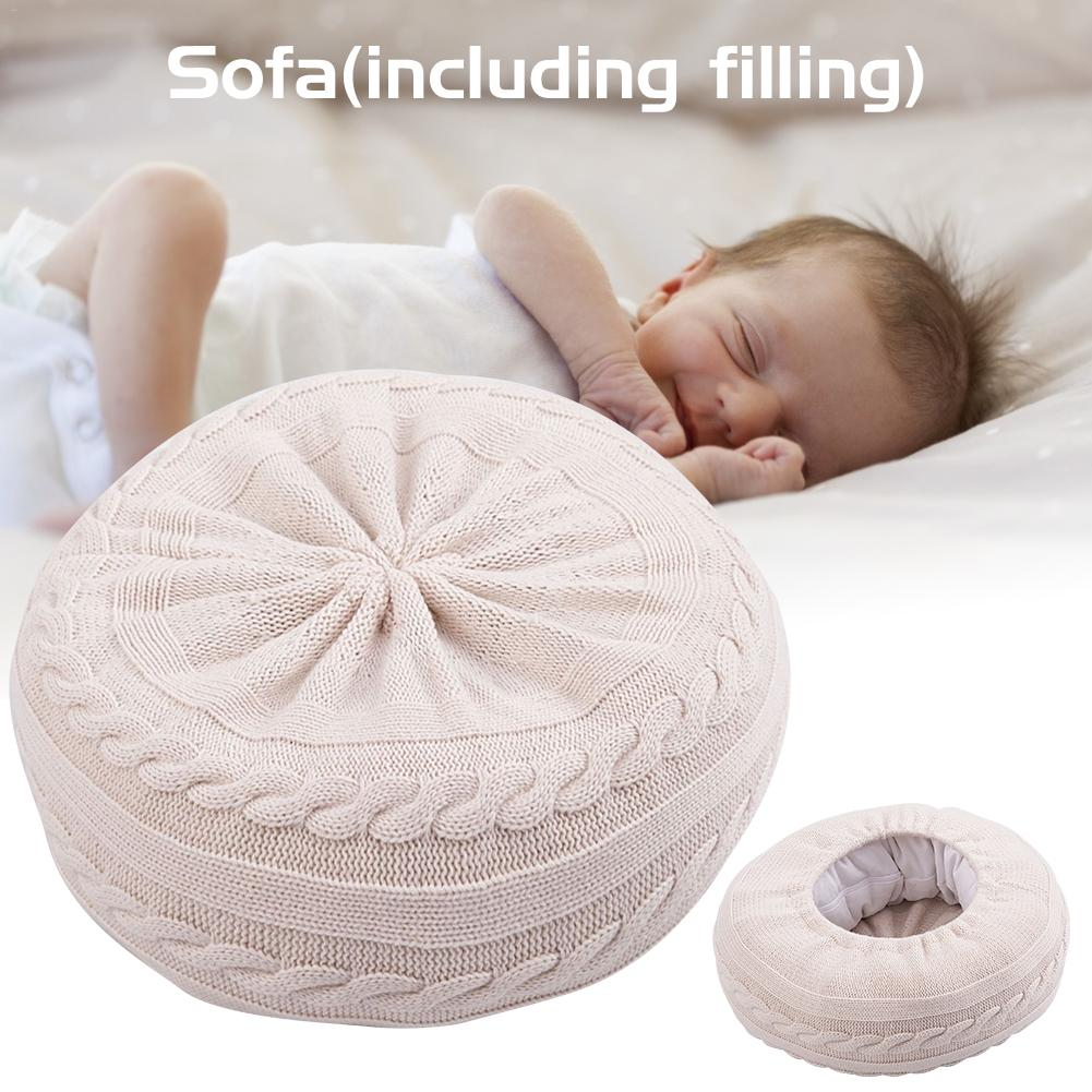 Baby Photography Props Sofa Newborn Posing Cushion For Photo Shooting Wool And Cotton Soft Sofa Cushions Home Decoration