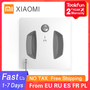 New XIAOMI MIJIA HUTT W55 Window Cleaner Robot for home Auto Fast Smart Planned Electric Window Cleaning Washer Vacuum Cleaner