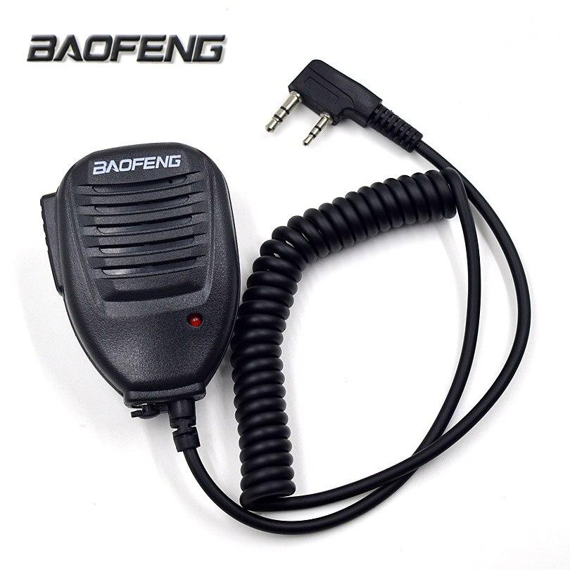 US $8.48 8% OFFOriginal BAOFENG Speaker Mic Microphone for Portable Two  Way Radio Walkie Talkie UV 8R UV 8RE Plus BF 8S UV B8 UV B8 GT 8 Markmic