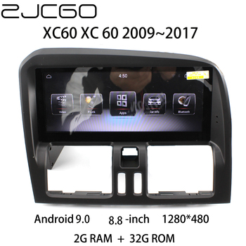 Car Multimedia Player Stereo GPS DVD Radio Navigation NAVI Android Screen Monitor for Volvo XC60 XC 60 2009~2017 image