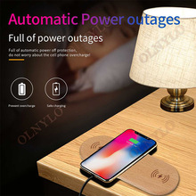 10W Dual Charging Charger Wooden Qi Wireless Charger Pad for iPhone X for Samsung for Airpod Fast Charger Charging qi wireless fast charger pad bluetooth speaker nfc hifi bass loundspeaker music player charging for iphone 8 x for samsung