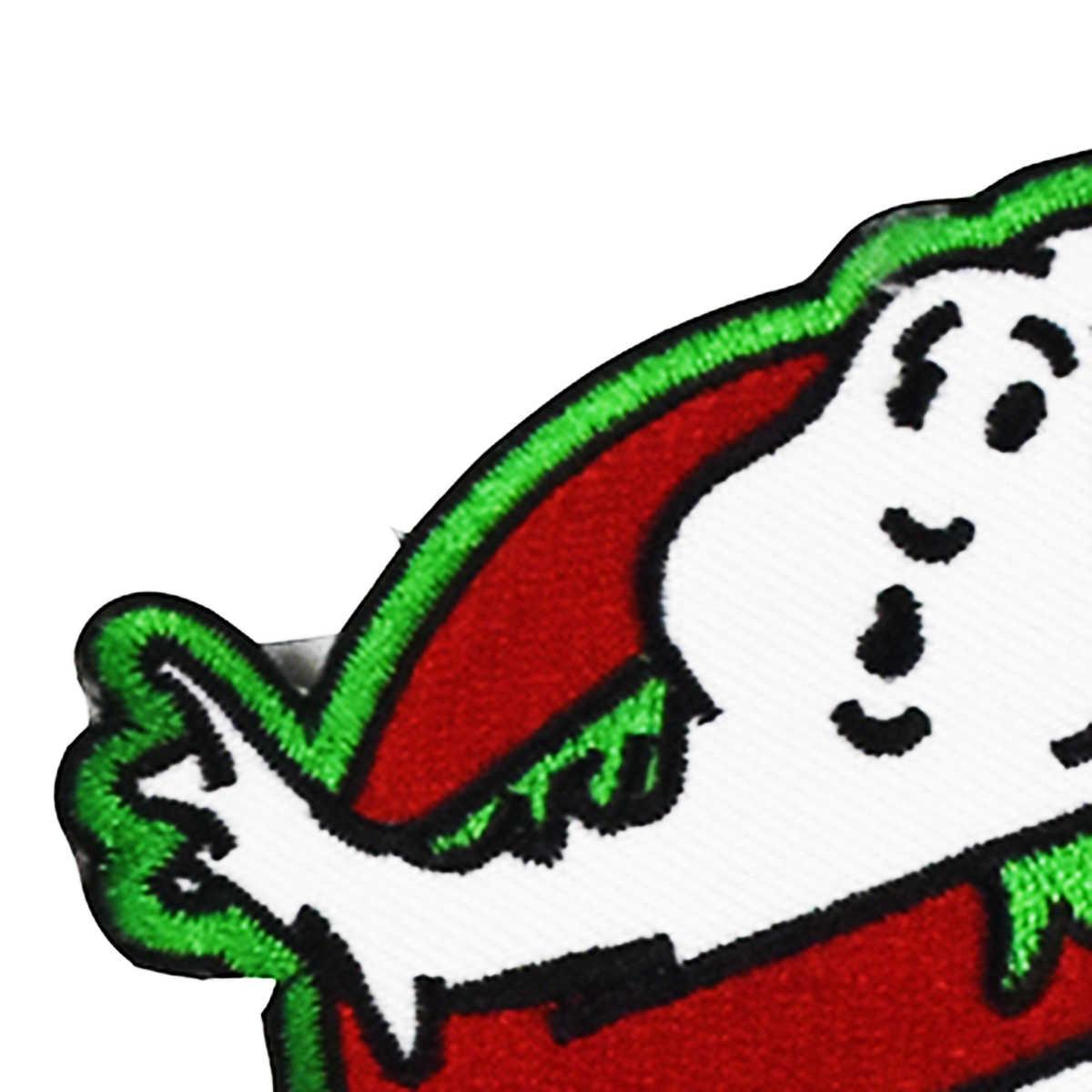 Ghostbuster зеленый Слизень призрак патч Эмблема байкер ретро эмо нашивка на одежду в виде знака хиппи пришить/Железо на патч Аксессуары для лоскутного шитья