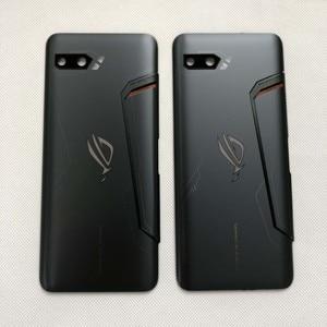 """Image 5 - Capa de vidro para celular asus, nova, 6.59 """", rog phone ii, zs660kl, 3d, carcaça traseira, bateria, lente de vidro «i001da i001de"""