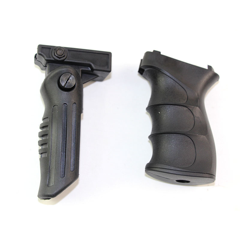 Tactical ABS Foregrip Handle Grip Front Griff Forward Foregrip For Picatinny Rail Vertical Grip Toy Guns Accessories Set