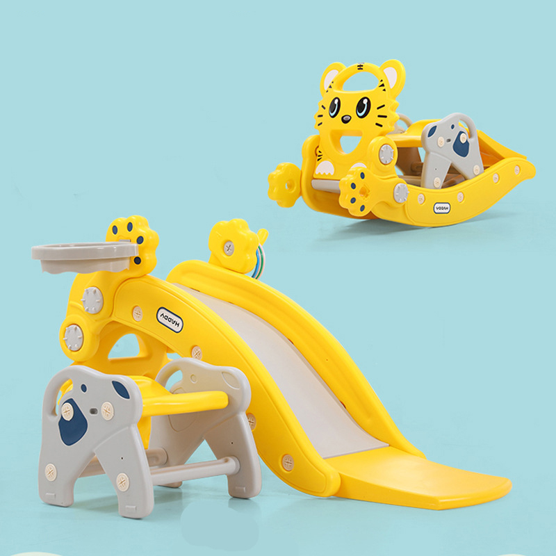 Multifunction Baby Rocking Horse Chair Children's Slide Ride On Animal Toys Creative Baby Birthday Gifts