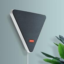 Wandmontage Bluetooth Draadloze Tv Speaker Rgb Flush Muziek Stereo Speaker Afstandsbediening Waterdichte Fm Bluetooth Sync Speaker