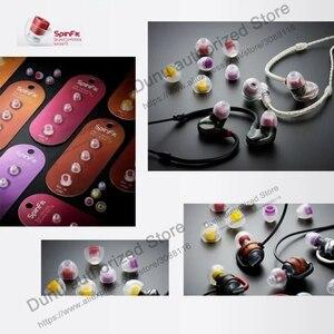 Image 5 - SpinFit CP100 CP800 CP230 CP240 kulak içi kulaklık kulak ucu patentli silikon kulak uçları 1 çift (2 adet) için FiiO DK3001 PRO DUNU