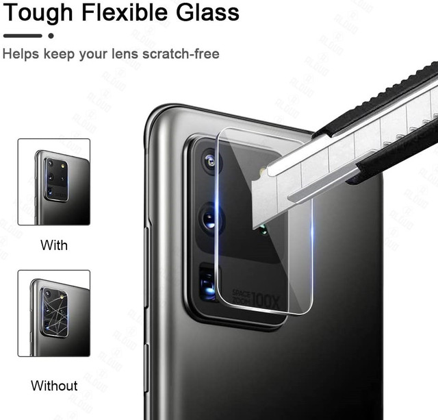 2pcs Camera Lens Glass for Samsung Galaxy A51 A71 Note 20 S20 Ultra Plus S20+ A31 A21S M31 A02 A12 S21 Screen Protector S20 Fe 3