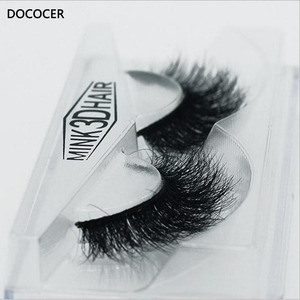 Image 5 - ใหม่ DOCOCER Mink Lashes 3D Mink ขนตาปลอมขนตายาวขนตาธรรมชาติและน้ำหนักเบาขนตาปลอม 1 คู่บรรจุภัณฑ์