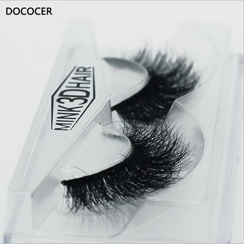 Image 5 - New band DOCOCER Mink Lashes 3D Mink False Eyelashes Long Lasting Lashes Natural & Lightweight Mink Eyelashes 1 pair Packaging-in False Eyelashes from Beauty & Health