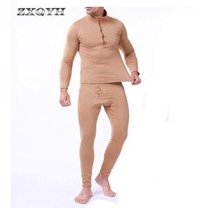 Image 5 - ZXQYH ความร้อนฤดูหนาวผู้ชายชุดทหารยุทธวิธี Uniform กีฬากลางแจ้งเสื้อผ้าที่อบอุ่นเสื้อ + กางเกงชุดชุด