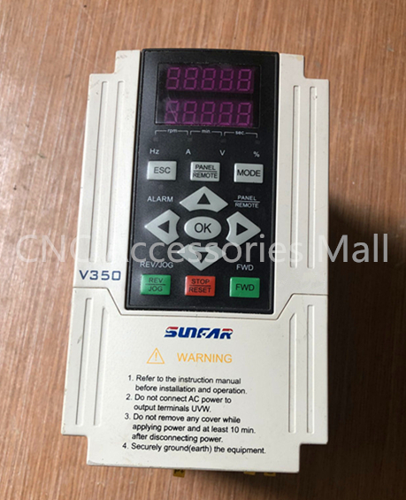 Original SUNFAR Closed loop VFD Inverter V350-2S0015 AC220V 1.5kw V350 Frequency 1000HZ