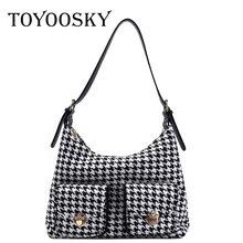 Toyoosky простые маленькие шерстяные сумки для женщин 2020 зимние