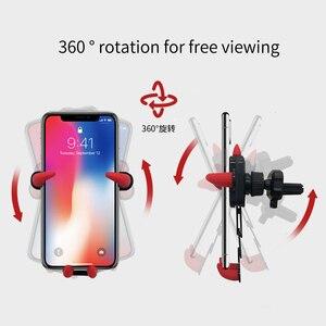 Image 4 - Tiểu Quỷ Trọng Lực Giá Đỡ Điện Thoại Ô Tô Samsung Huawei Xiaomi iPhone 12 Silicone Giá Đỡ Kẹp Trên Xe Lỗ Thông Khí Gắn Điện Thoại chân Đế