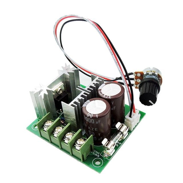 DC 12V-40V DC Motor Speed Controller 400W 10A 10%-100% Adjustable PWM Controller