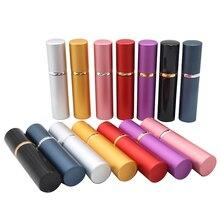 цена на 10ml Refillable Mini Perfume Spray Bottle Aluminum Spray Atomizer Portable Travel Cosmetic Container Perfume Bottle